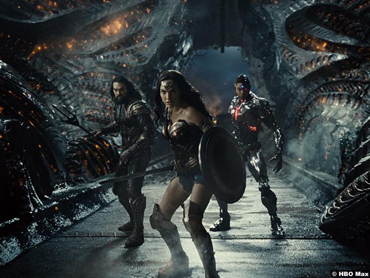 Zack Synder's Justice League Jason Momoa Gal Gadot Ray Fisher as Aquaman Wonder Woman Cyborg
