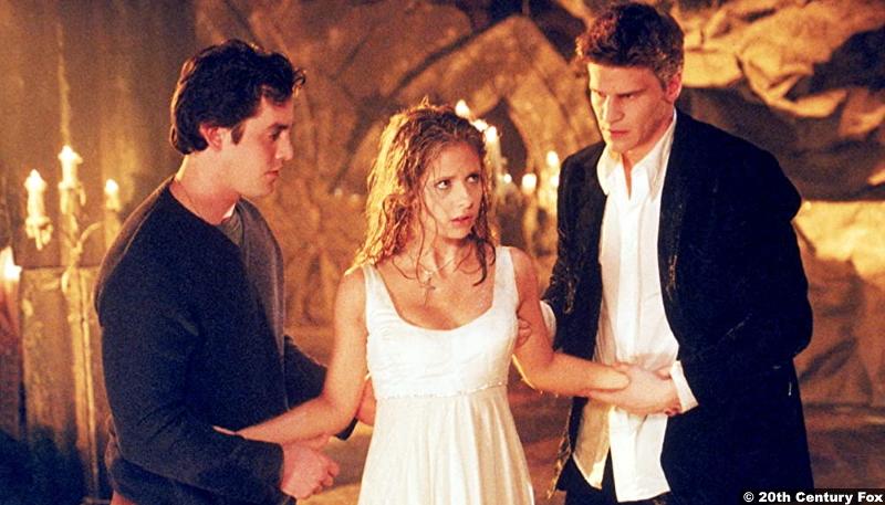 Buffy The Vampire Slayer S01e12 Nicholas Brendon Sarah Michelle Gellar David Boreanaz as Xander Buffy Angel