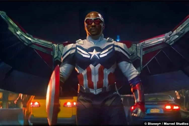 The Falcon and the Winter Soldier S01e06 Anthony Mackie as Captain America