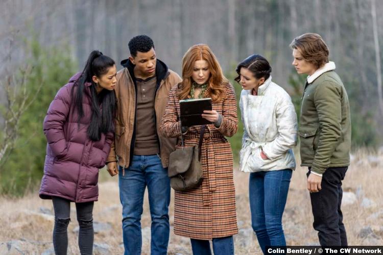 S02E11 Leah Lewis Tunji Kasim Kennedy McMann Maddison Jaizani Alex Saxon as George Nick Nancy Bess Ace