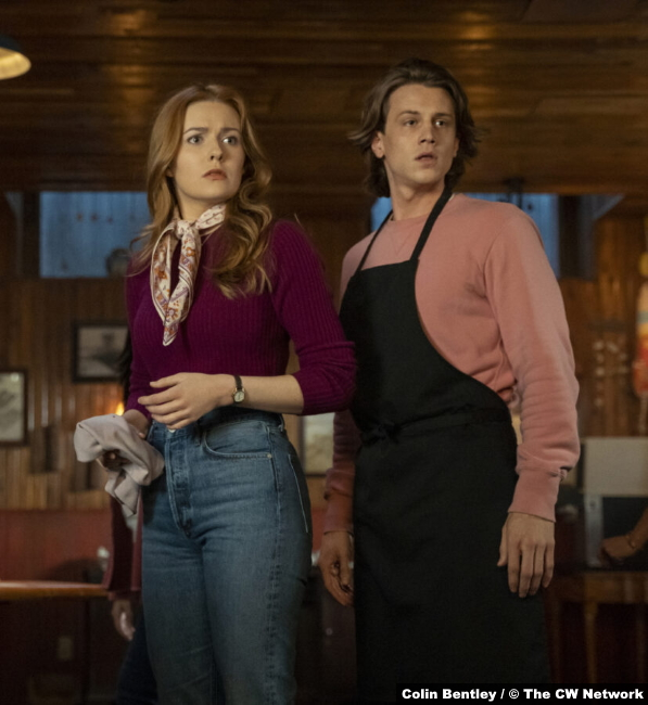 S02E13 Kennedy McMann and Alex Saxon as Nancy Drew and Ace