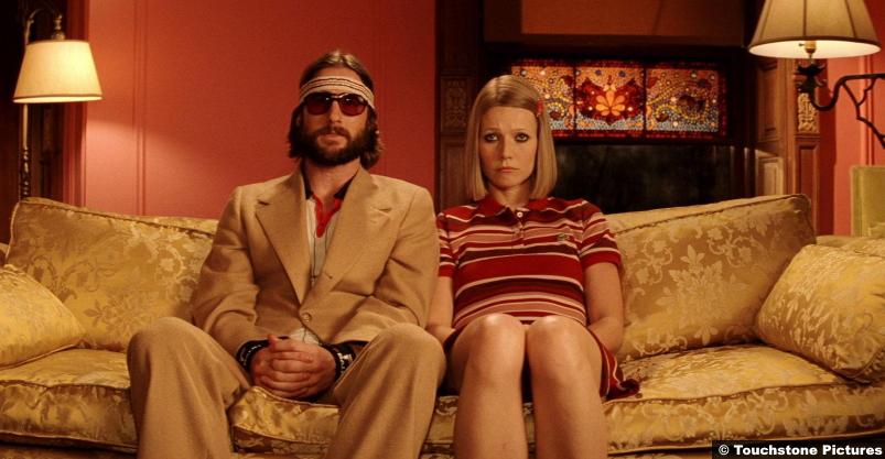 Royal Tenenbaums Luke Wilson and Gwyneth Paltrow