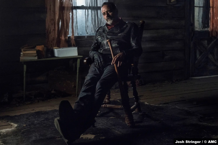 The Walking Dead S10e22 Jeffrey Dean Morgan as Negan
