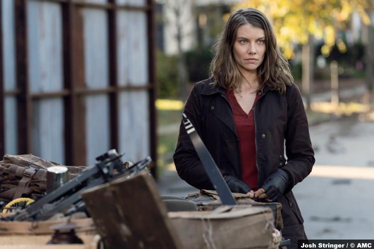 The Walking Dead S10e22 Lauren Cohan as Maggie