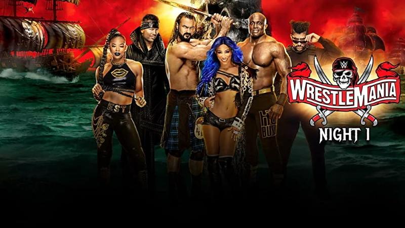 Wrestlemania 37 Night 1 Poster