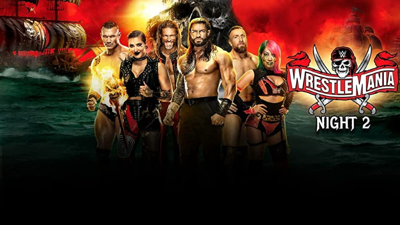 WrestleMania 37 Night 2 Poster