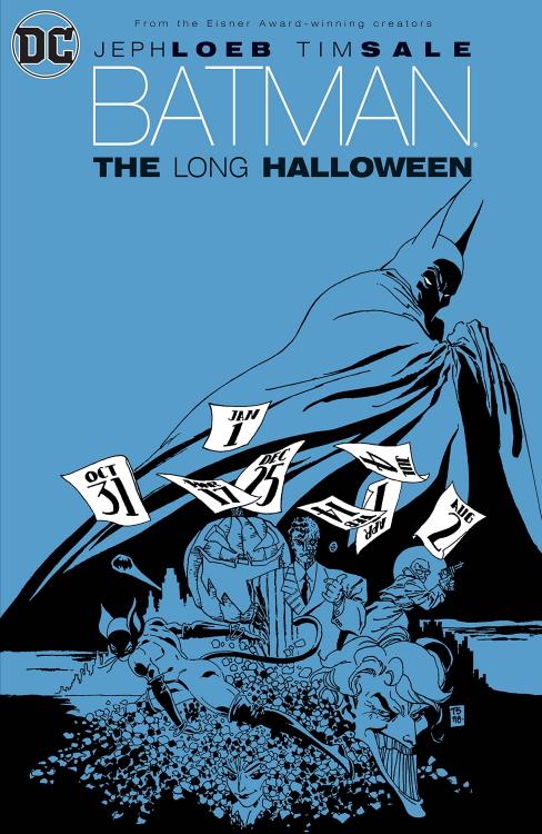 Batman The Long Halloween Cover