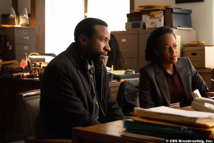 Clarice S01e09: K.C. Collins and Devyn Tyler as Agent Garrett Haynes and Ardelia Mapp