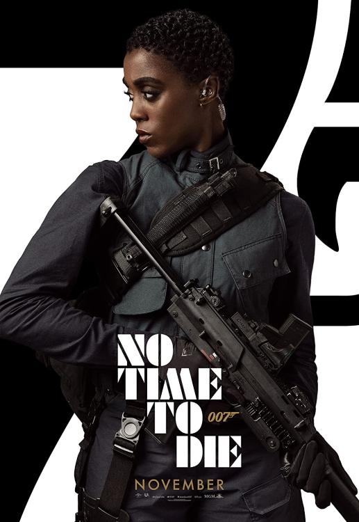Lashana Lynch No Time To Die Poster