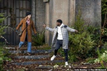 Nancy Drew S02e15: Kennedy McMann and Tian Richards as Nancy and Tom Swift