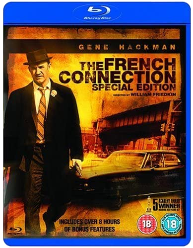 The French Connection Blu Ray Cover