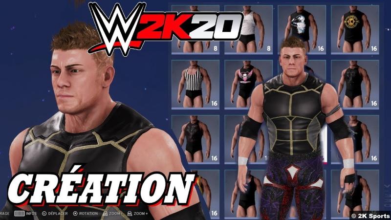 WWE 2K20 CAW