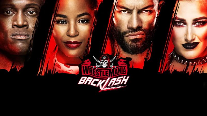 WWE Wrestlemania Backlash 2021 Poster