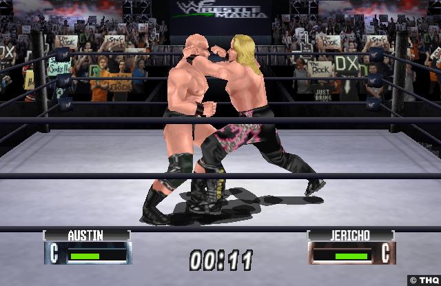WWF No Mercy: Steve Austin and Chris Jericho