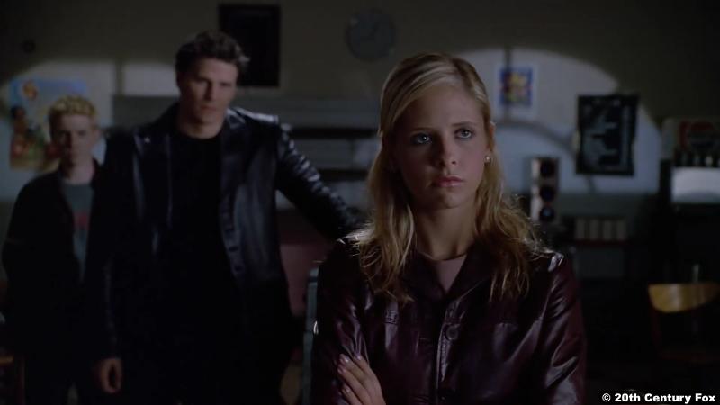 Buffy The Vampire Slayer S03e19: Seth Green David Boreanaz Sarah Michelle Gellar as Oz Angel Buffy