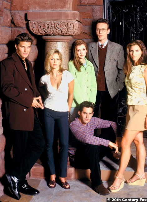 Buffy The Vampire Slayer S2 Cast Photo