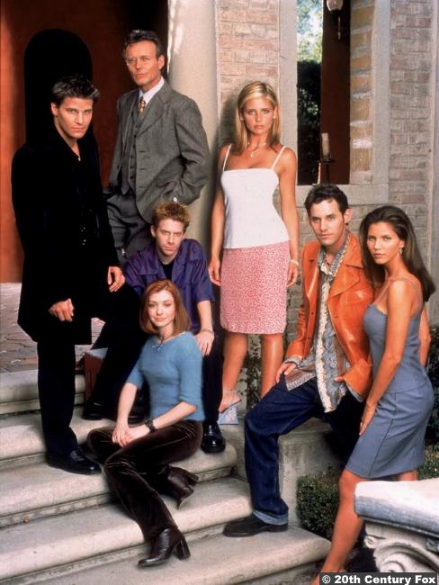 Buffy The Vampire Slayer S3 Cast Photo