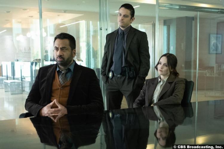 Clarice S01e11: Kal Penn Lucca De Oliveira Rebecca Breeds as Shaan Tripathi Tomas Esquivel Clarice Starling