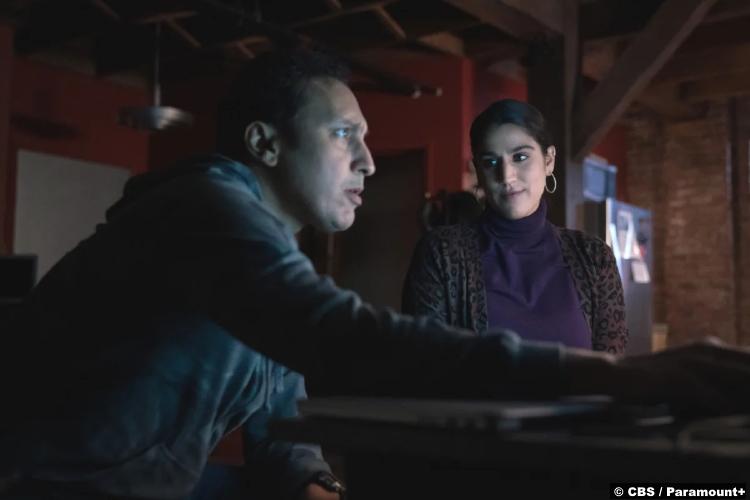 Evil S02e03: Aasif Mandvi and Sohina Sidhu as Ben and Karima Shakir