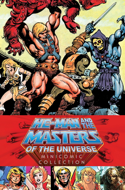 He-Man Mini Comic Set