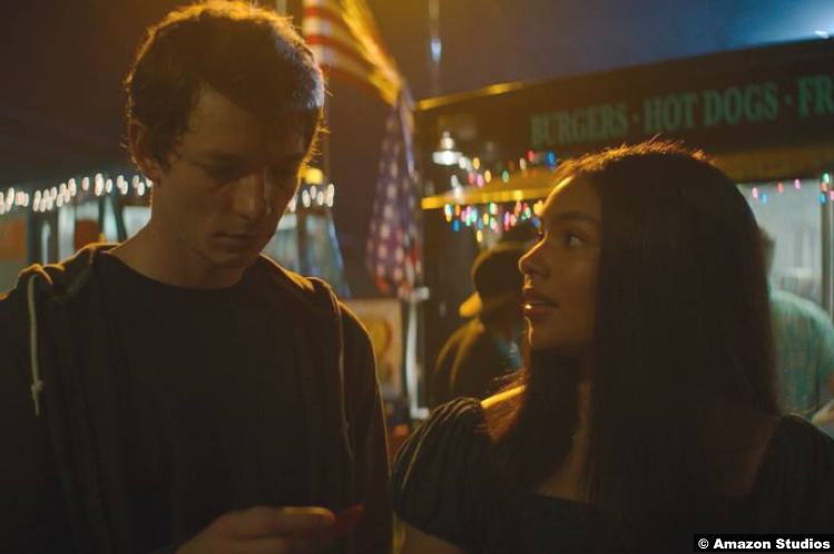 Panic S01: Mike Faist and Jessica Sula as Dodge Mason and Natalie Williams