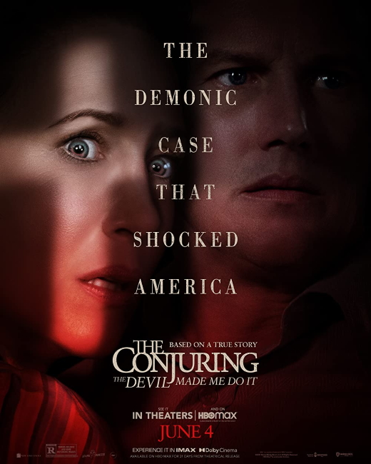 The Conjuring Devil Made Me Do It Poster