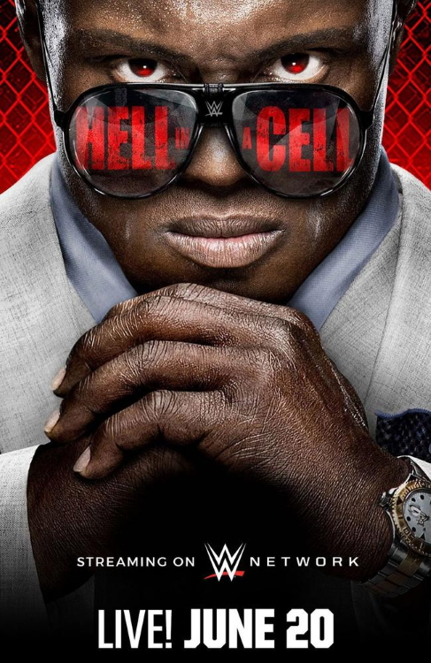 WWE Hell In A Cell Poster 2021