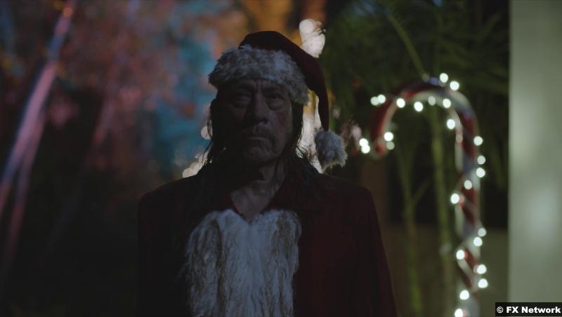 American Horror Stories S01e04: Danny Trejo as Santa