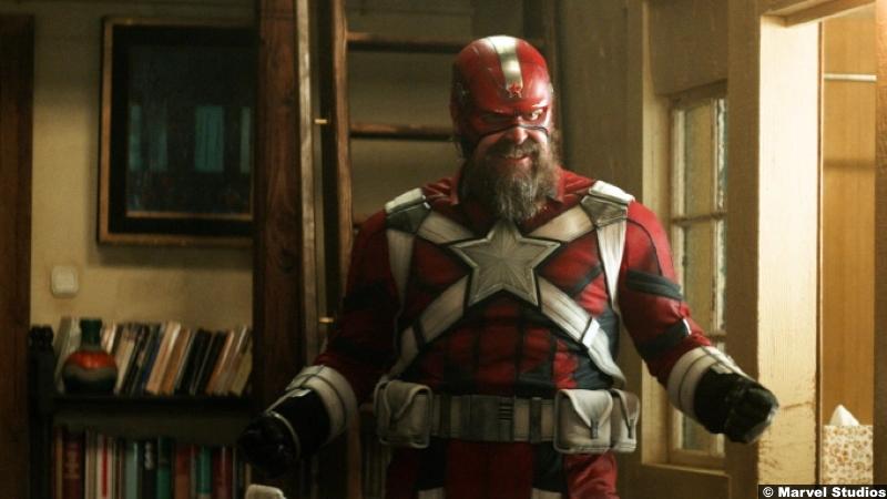 Black Widow: David Harbour as Red Guardian