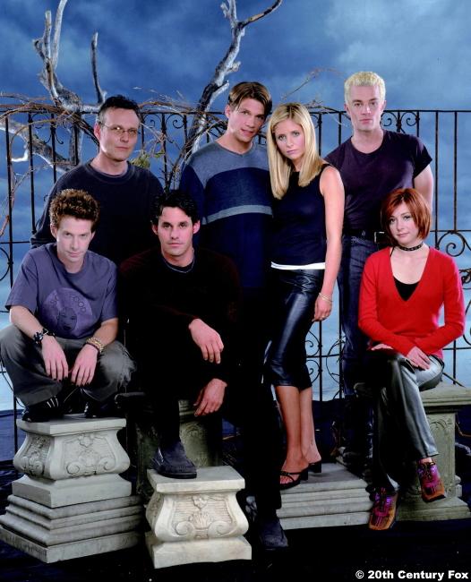 Buffy The Vampire Slayer S4 Cast Photo