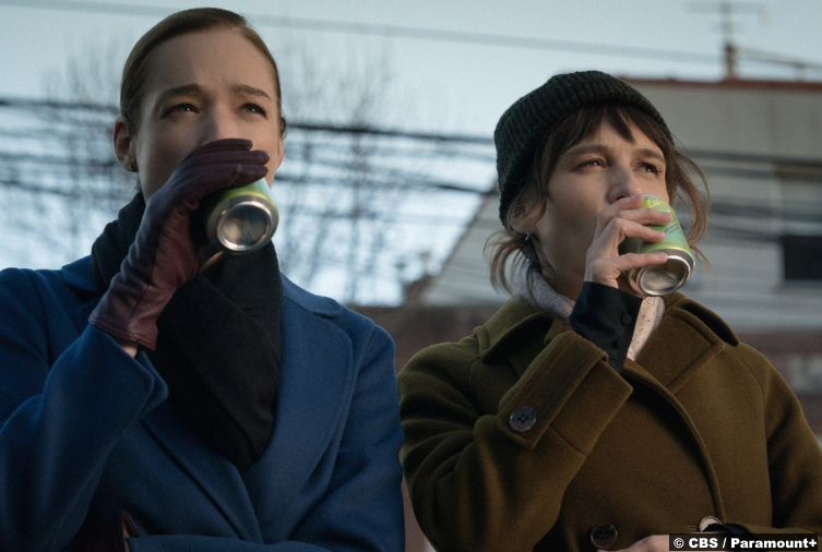 Evil S02e06: Kristen Connolly and Katja Herbers as Mira Byrd and Kristen Bouchard