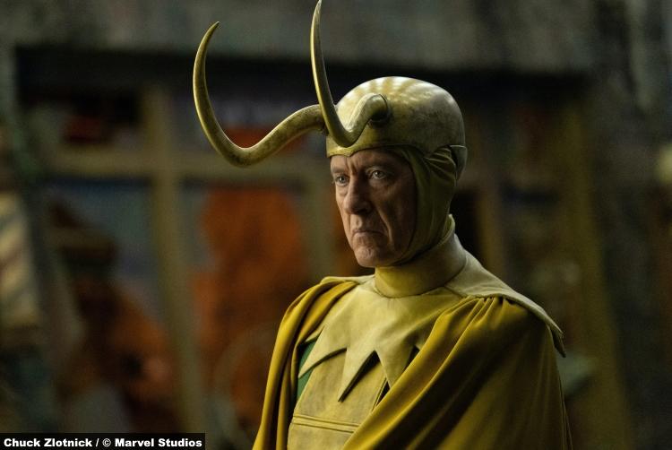 Loki S01e05: Richard E. Grant as Classic Loki