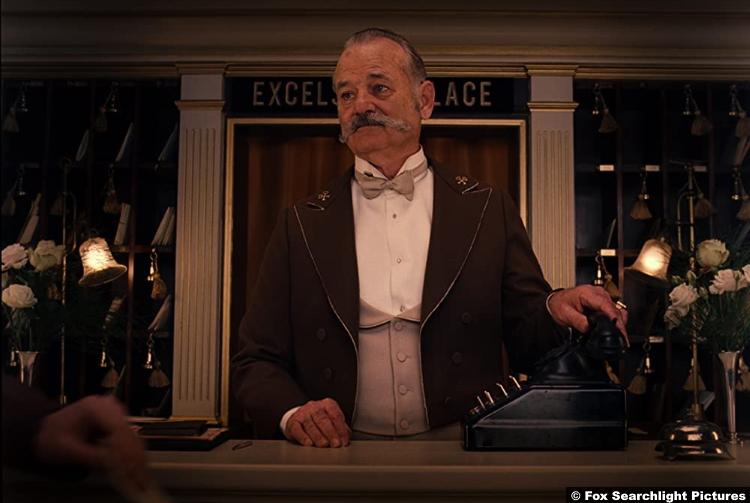 The Grand Budapest Hotel Bill Murray
