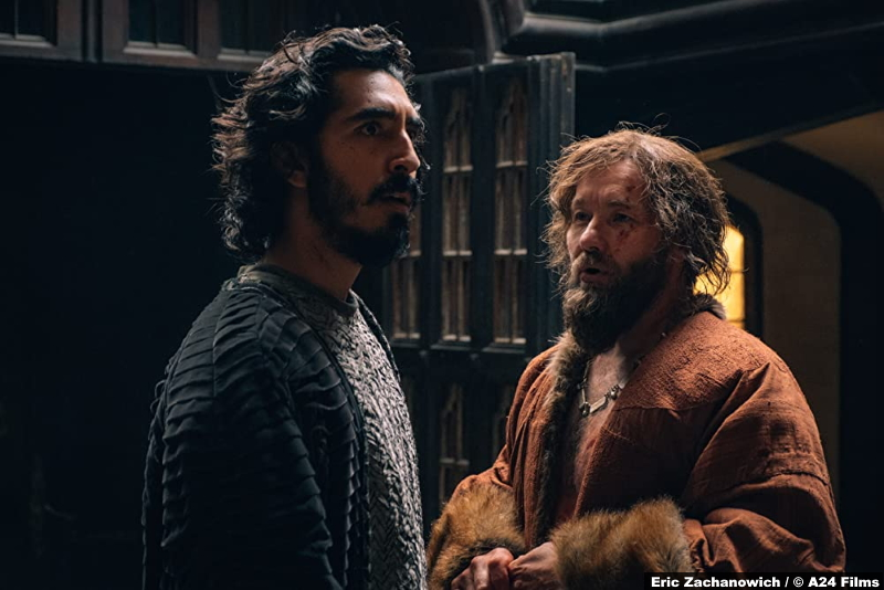 The Green Knight: Dev Patel and Joel Edgerton as Gawain and The Lord