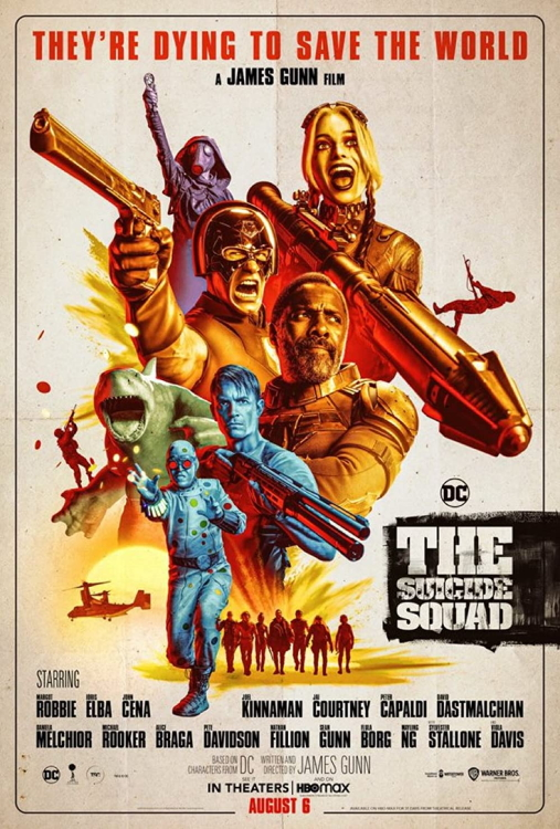 The Suicide Squad 2021 Poster