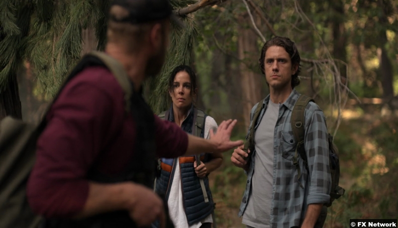 American Horror Stories S01e06: Tiffany Dupont and Aaron Tveit as Addy and Jay Gantz