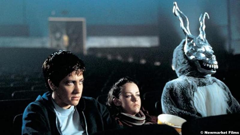 Donnie Darko: Jake Gyllenhaal, Jena Malone and James Duval