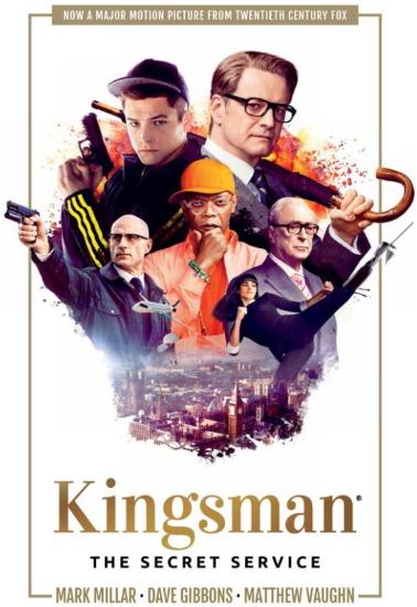 Kingsman Book Cover