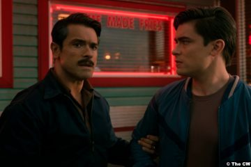 Riverdale S05e12: Mark and Michael Consuelos as Javier Luna and Teen Hiram Lodge