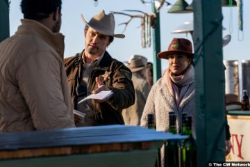 Roswell, New Mexico S03e03: Nathan Parsons and Heather Hemmens as Max Evans and Maria DeLuca