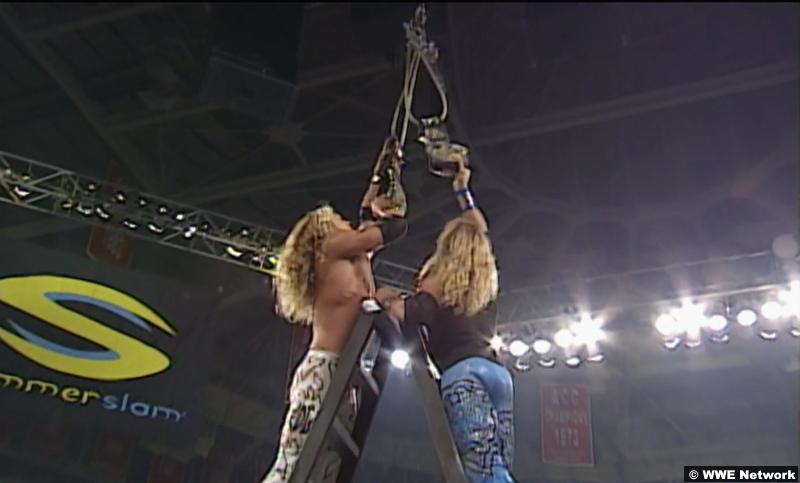 SummerSlam 2000: Edge and Christian