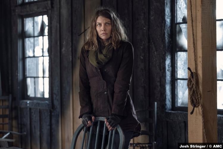 The Walking Dead S11e01: Lauren Cohan as Maggie