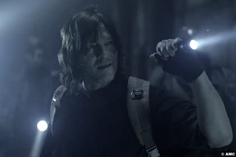 The Walking Dead S11e01: Norman Reedus as Daryl
