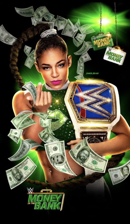 WWE Money in the Bank 2021 Poster