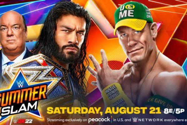 WWE SummerSlam 2021 Poster
