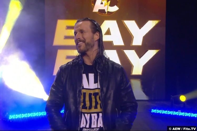 Adam Cole at AEW All Out 2021