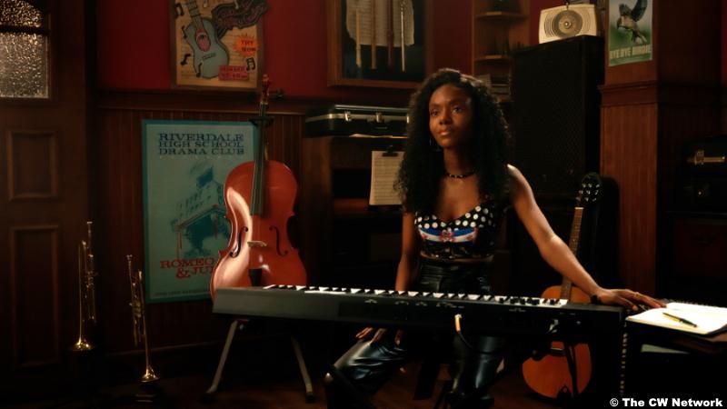 Riverdale S0515: Ashleigh Murray as Josie McCoy
