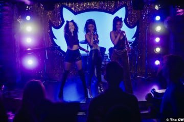 Riverdale S05e15: Hayley Law, Ashleigh Murray and Asha Bromfield as Valerie Brown, Josie McCoy and Melody Valentine