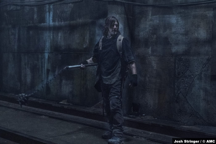 The Walking Dead S11e02: Norman Reedus as Daryl