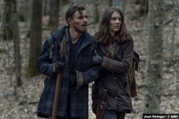 The Walking Dead S11e03: Callan McAuliffe and Lauren Cohan as Alden and Maggie